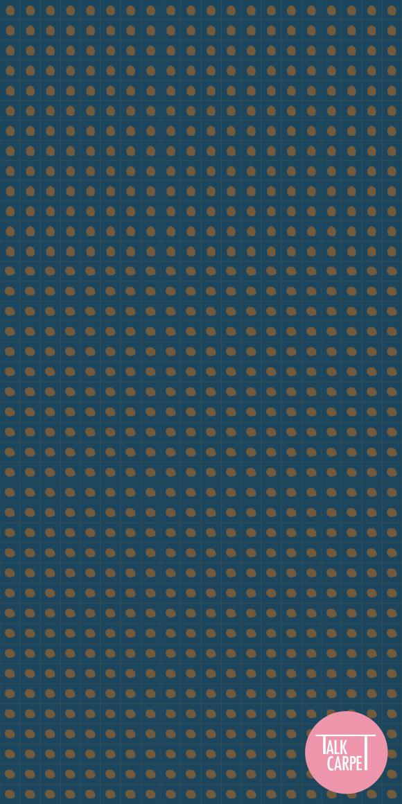 polka dot carpet, Polka dot carpet pattern reinvents Thebe Magugu's SS21 collection