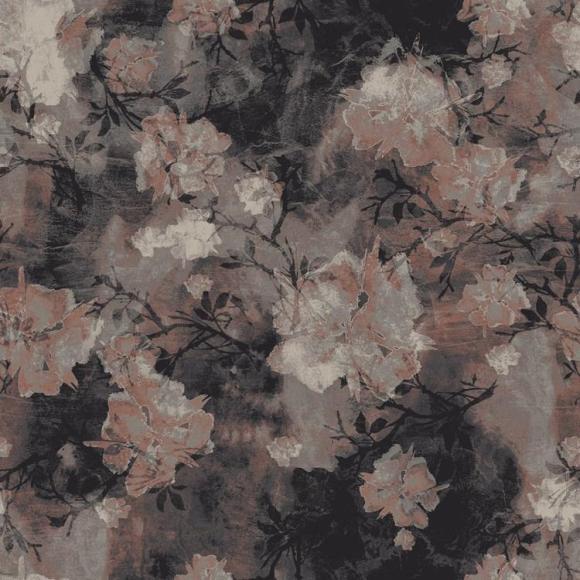 Asian Flower Grey