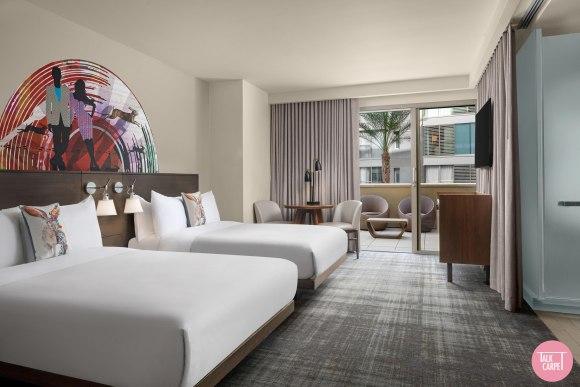 custom hospitality carpet, All eyes on W Scottsdale and its desert inspired custom hospitality carpet