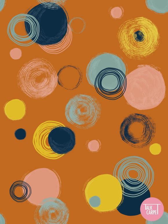 optical illusions carpet, Sonya Sklaroff inspires this optical illusions carpet design