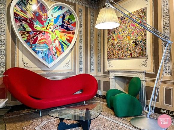 Byblos Art Hotel Verona, The Byblos Art Hotel in Verona blends Renaissance with modern icons