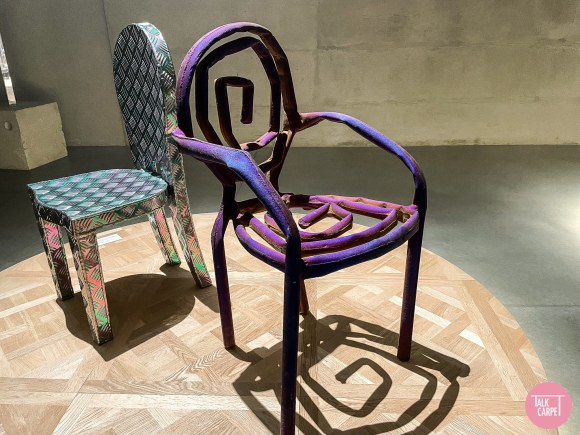 dior milan design week 2021, Dior puts chairs at the center stage of Milan Design Week 2021
