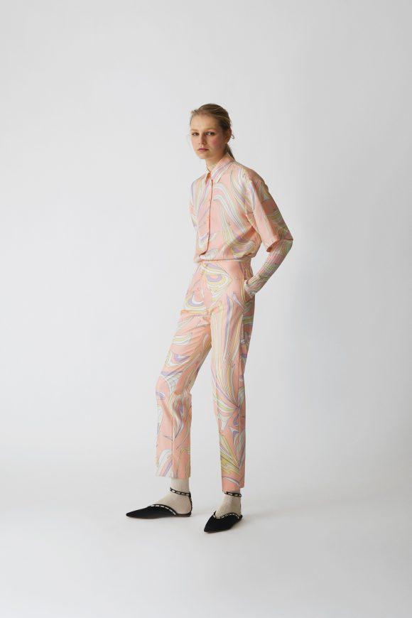 Pucci Pattern Trend, Vibrant Carpet In Pucci Pattern Trend