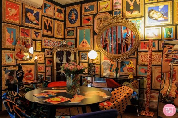 Toiletpaper Magazine Home, The maximalist home of Toiletpaper Magazine in collab with Seletti