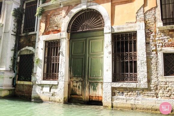 rustic carpet, Weathered Venetian Palazzo door brought to life as a rustic carpet