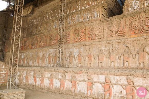temple of the moon peru, Temple of the Moon, the religious epicenter of the Moche culture