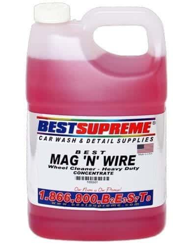 Mag N' Wire Wheel Cleaner