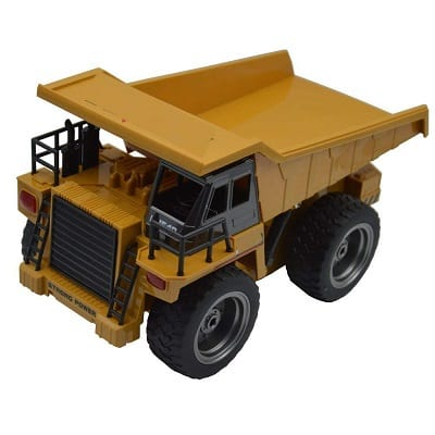Blomiky 540 6Ch 2.4G Remote Control Dump Truck 4 Wheel Driver Mine Engineer Construction Vehicle RC Cars Toy