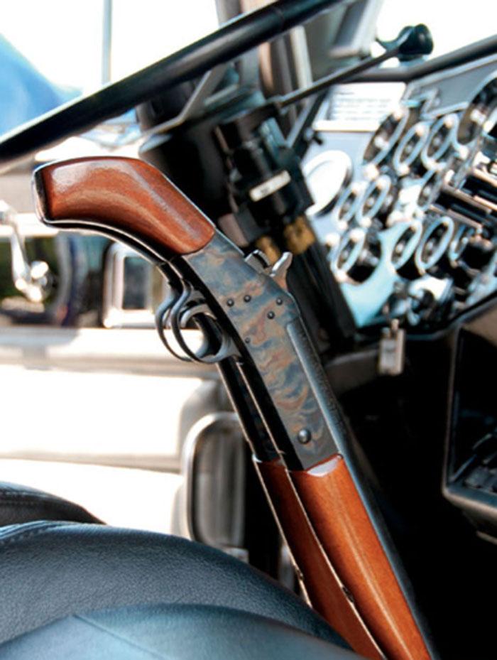 Truckers Shooting Guns