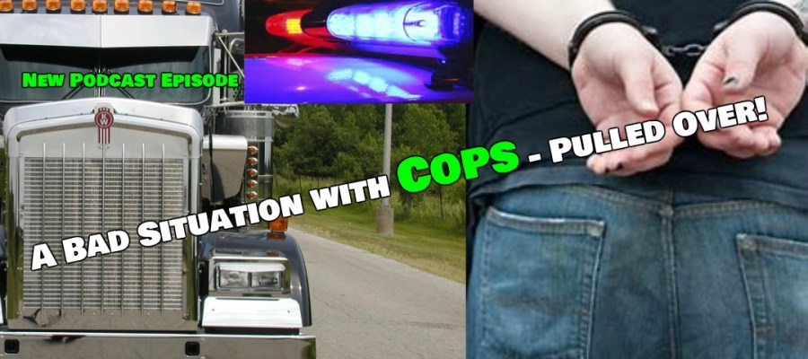 A Bad Situation with Cops - Pulled Over!