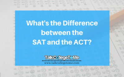 What's the Difference Between the SAT and the ACT?