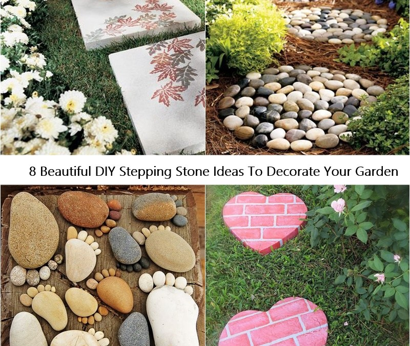 8 Beautiful DIY Stepping Stone Ideas To Decorate Your Garden