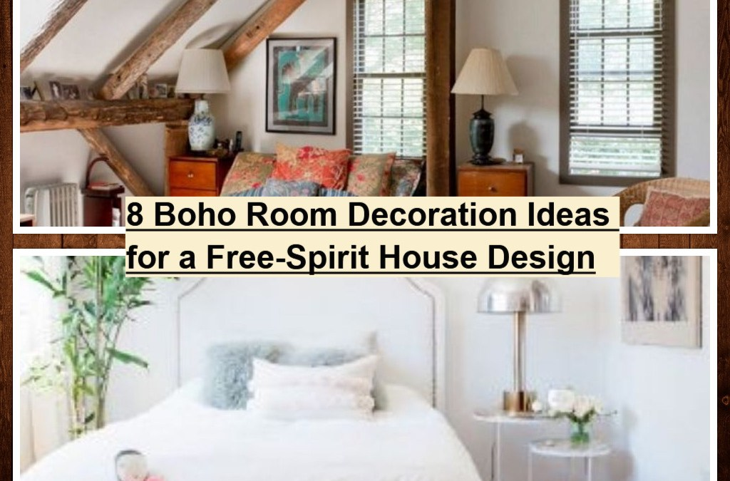 8 Boho Room Decoration Ideas for a Free-Spirit House Design