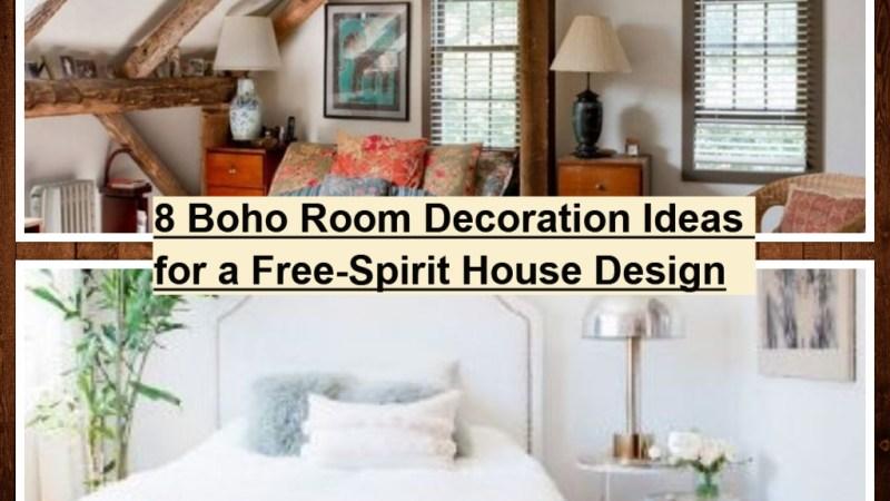 8 Boho Room Decoration Ideas for a Free-Spirit House Design