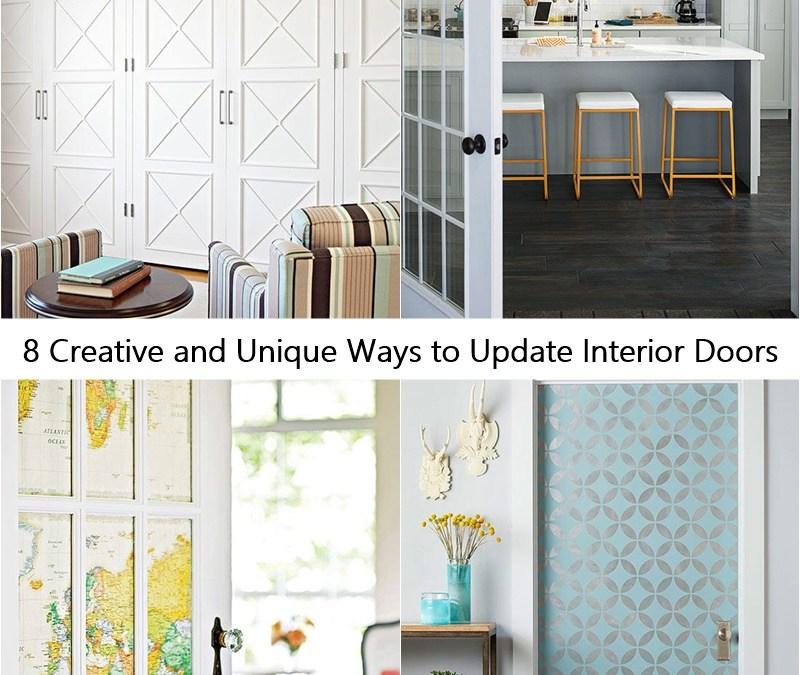8 Creative and Unique Ways to Update Interior Doors