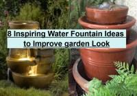 8 Inspiring Water Fountain Ideas To Improve Garden Look
