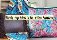 8 Lovely Fringe Pillows To Buy For Room Accessories