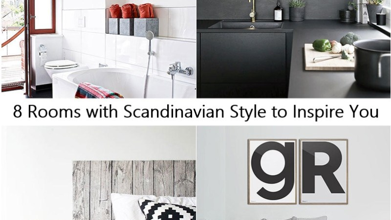 8 Rooms with Scandinavian Style to Inspire You