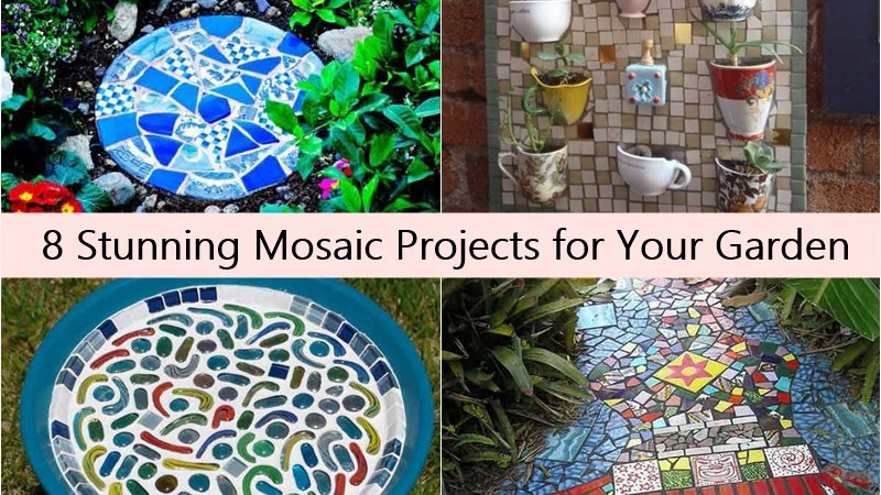 8 Stunning Mosaic Projects for Your Garden