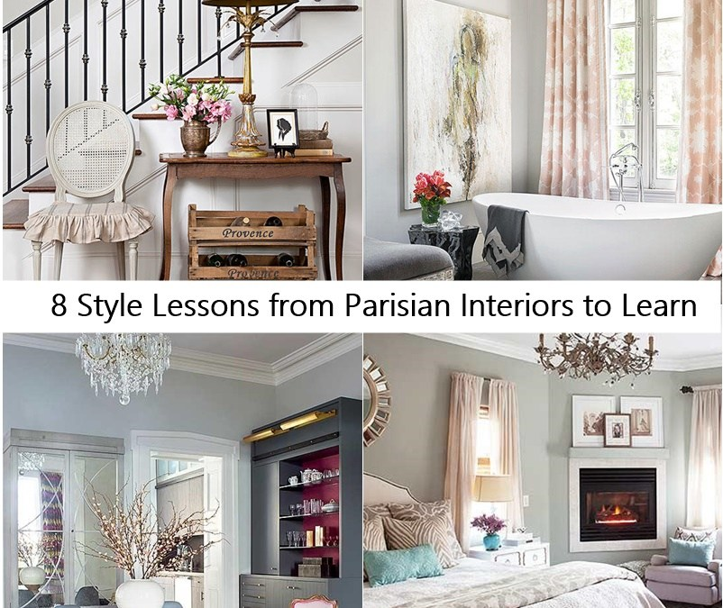 8 Style Lessons from Parisian Interiors to Learn