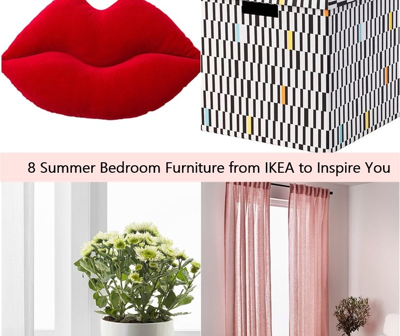 8 Summer Bedroom Furniture from IKEA to Inspire You