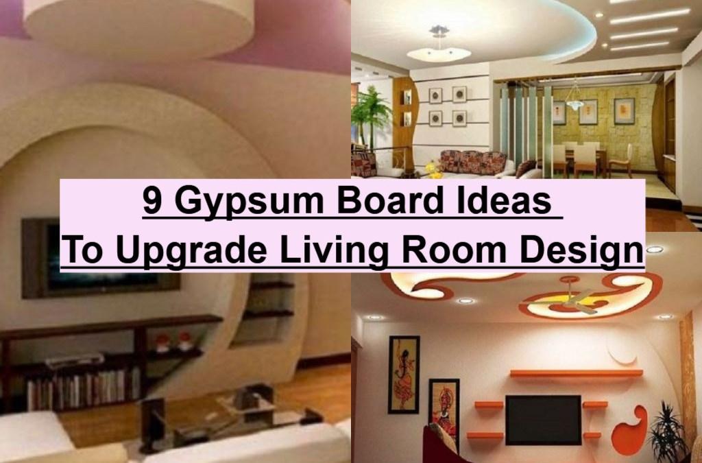 9 Gypsum Board Ideas To Upgrade Living Room Design