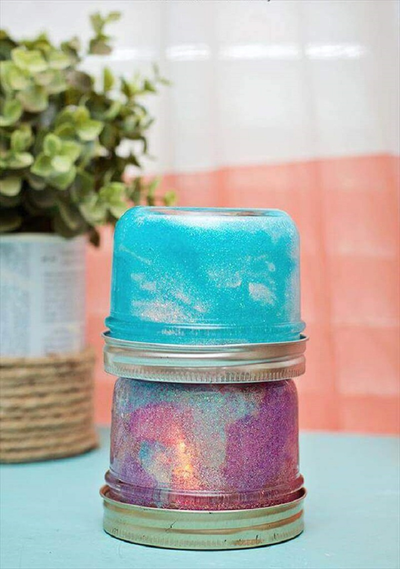 Cute Mini Glitter Lamps