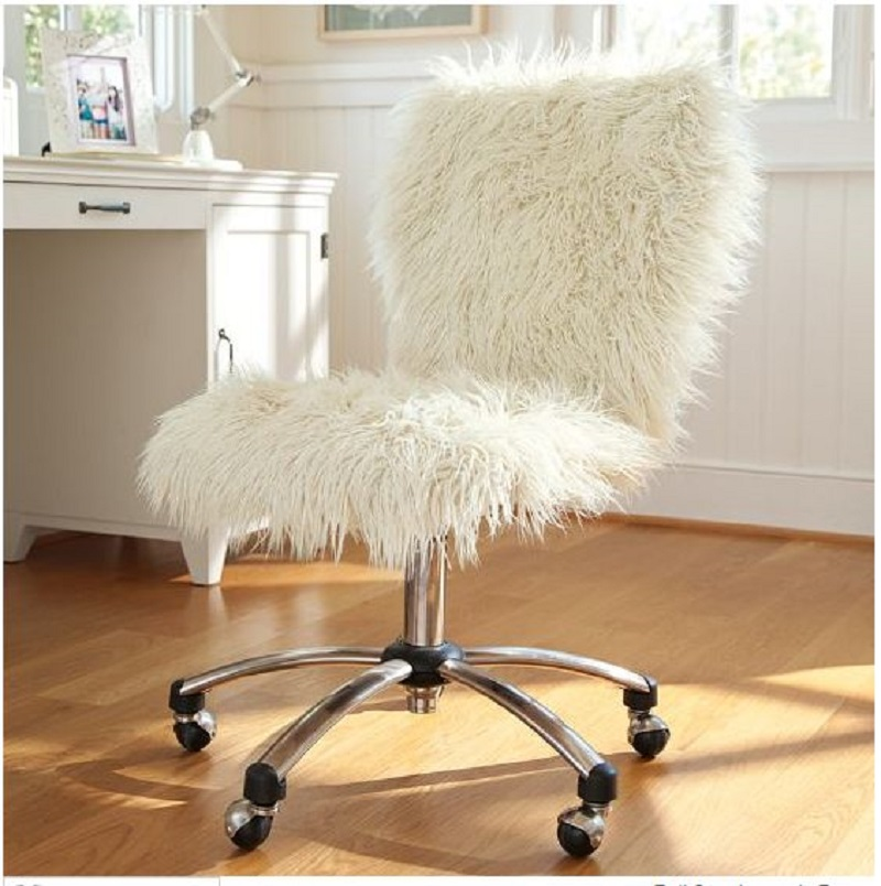 Furry Desk Chair