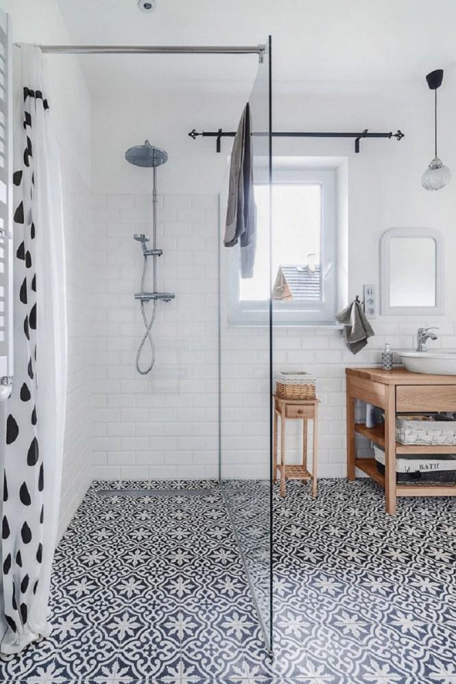 Install Striking Moroccan Floor Tiles
