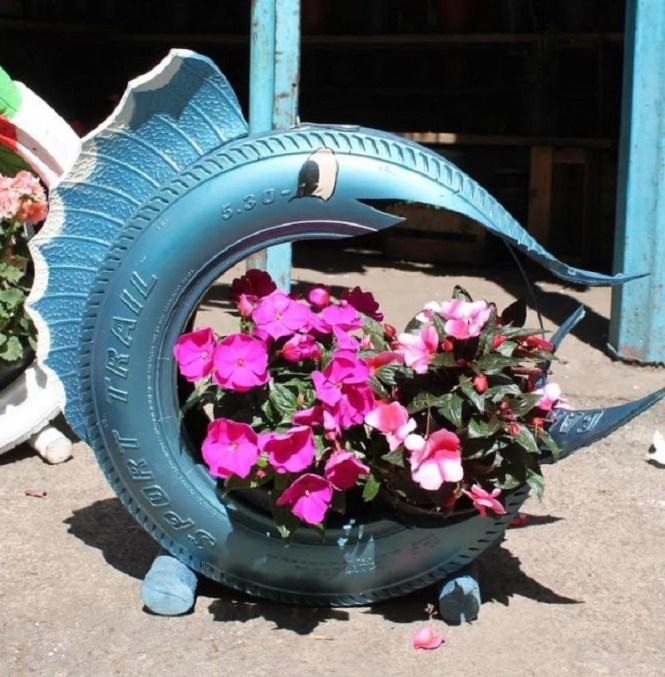 Joyfull Tire Planter