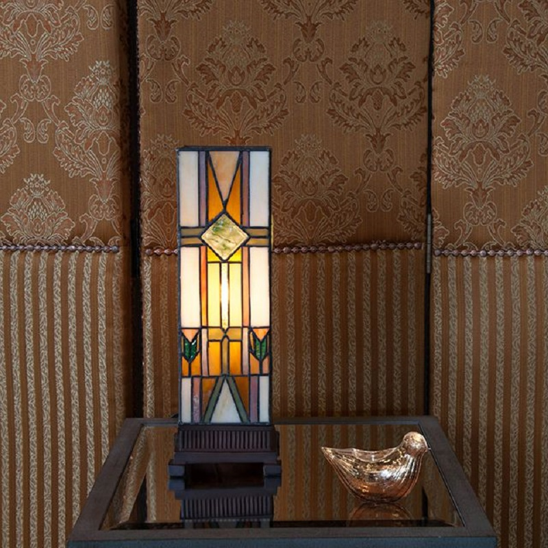 Modern Stained Glass Lamps