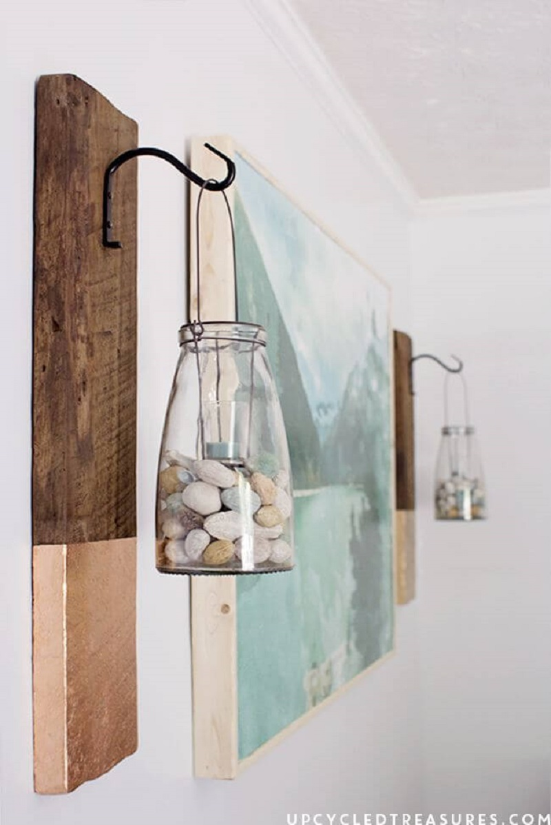 Rock Bottom Side Wall Lamp