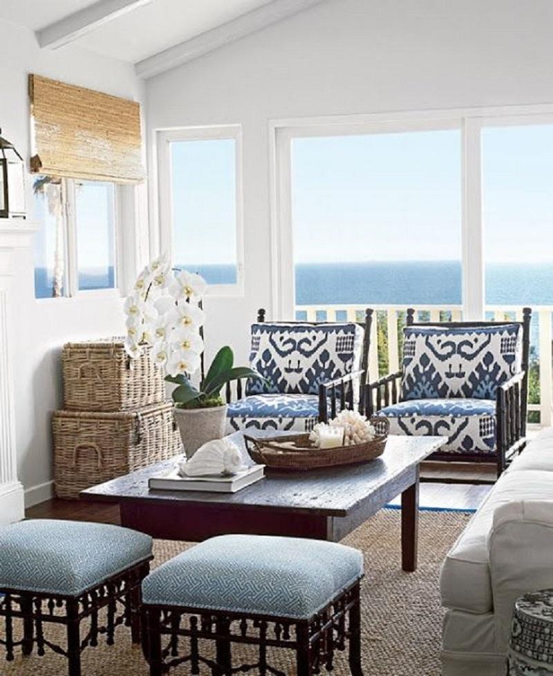 Small Sunroom With Armchair