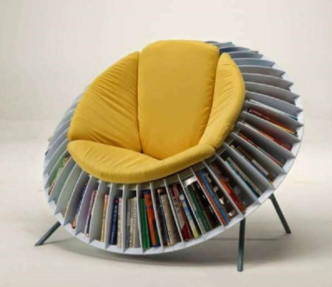 Sunflower Bookshelf Chair