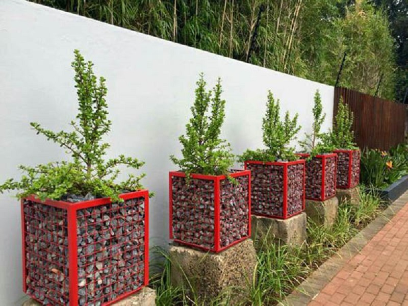 Number Of Planters Lined