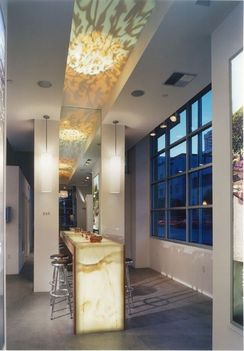 Residential Onyx Bar