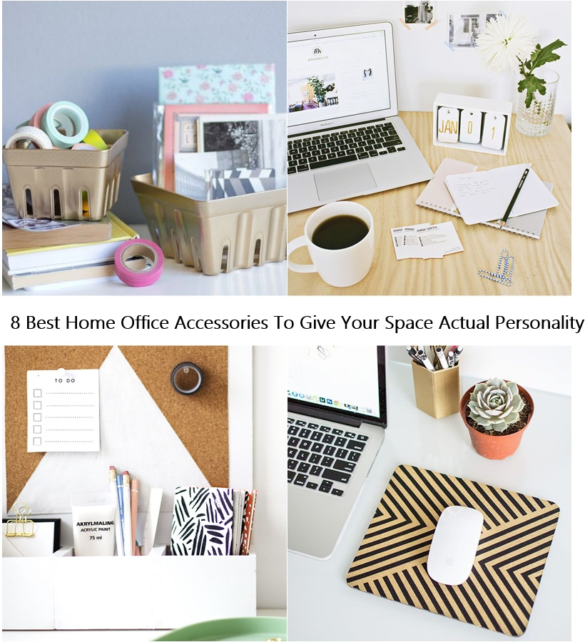 8 Best Home Office Accessories To Give Your Space Actual Personality