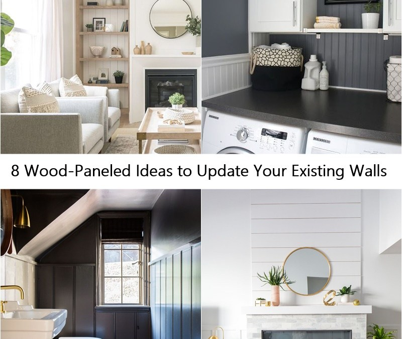 8 Wood-Paneled Ideas to Update Your Existing Walls