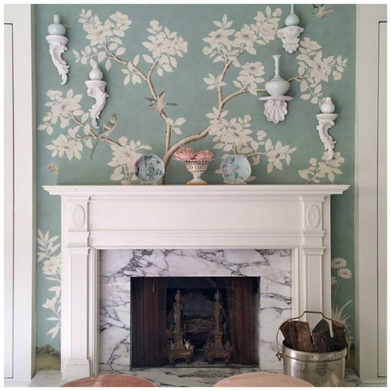 Chinoiserie Mantel