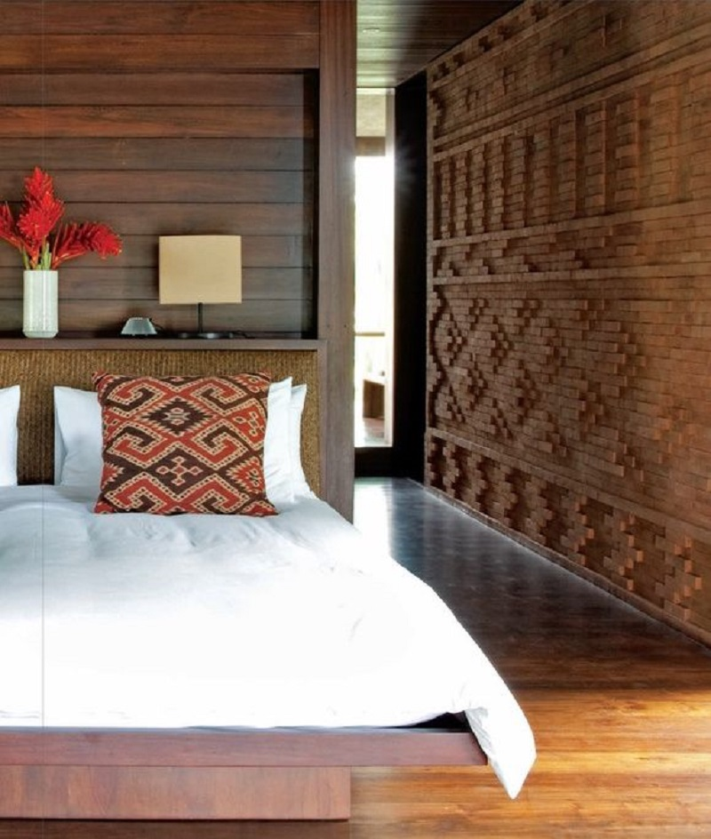 Wood Paneling On The Wall