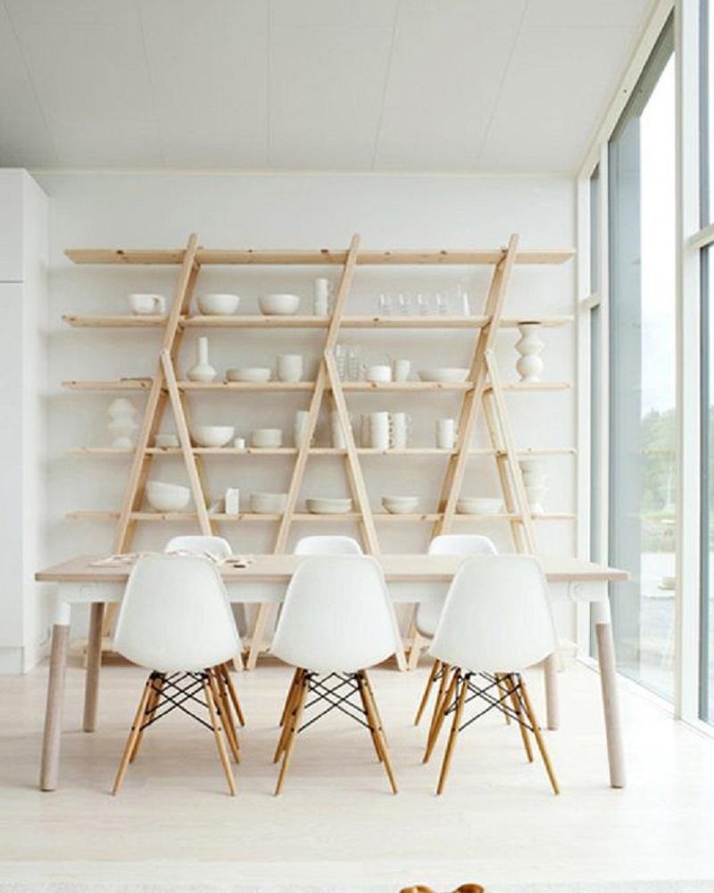 A Frame Shelves