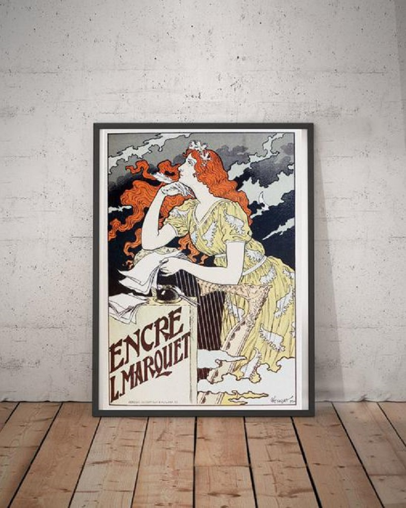 Frame Vintage French Posters