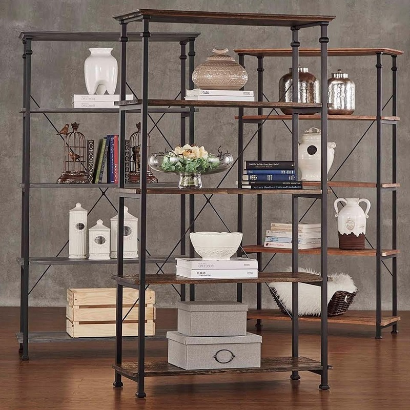 Industrial Meets Rustic Storage
