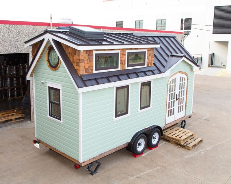 Mint Color For A Tiny House