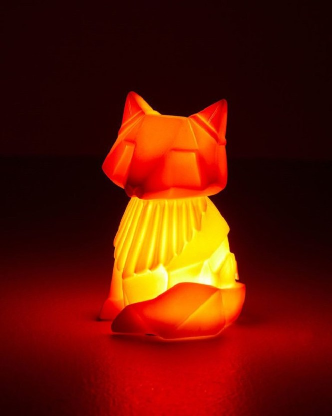 Orange Fox Night Light
