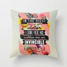 Invincible Summer Pillow