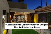 8 Adorable Mid Century Outdoor Designs That Will Make You Relax