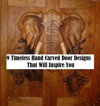9 Timeless Hand Carved Door Designs That Will Inspire You