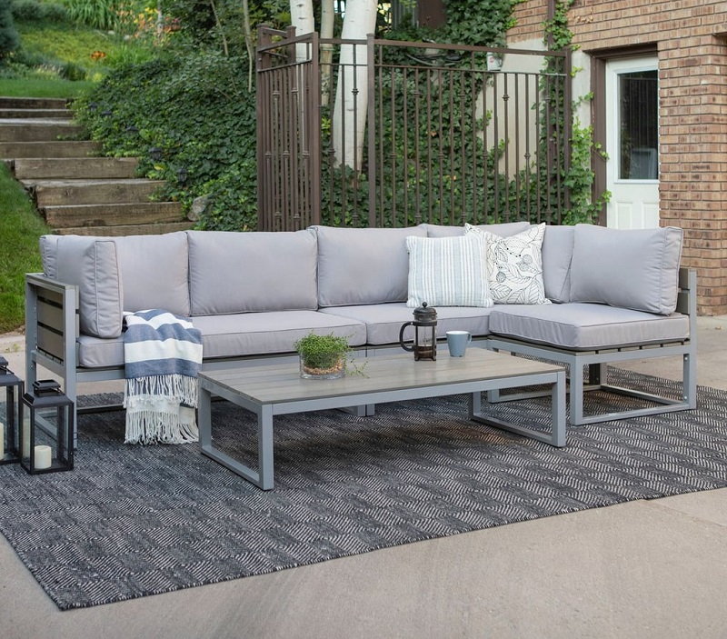 All Weather Patio Set With Cushions
