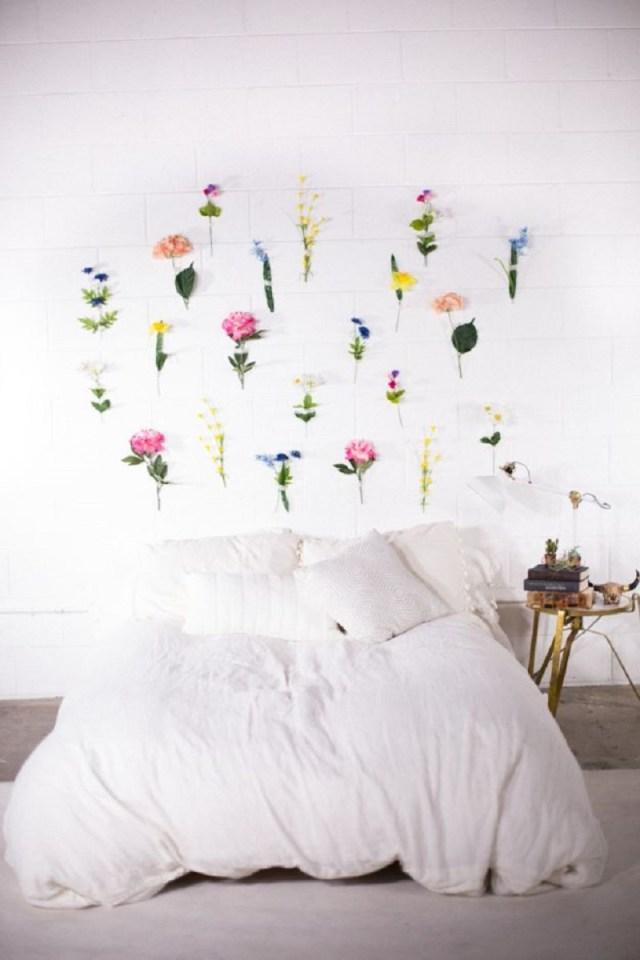 DIY Flower Wall